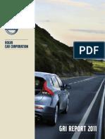 Volvo Cars GRI Report 2011