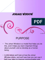Johari Window Ppt