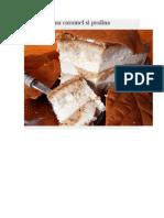 Tort Cu Crema Caramel Si Pralina