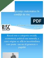 Tehnica speranţei matematice în condiţii de risc 2