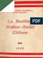 La Realidad Médico-Social Chilena.