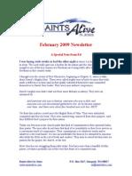 February 2009 Newsletter Scribd