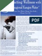 Kangen Water Report