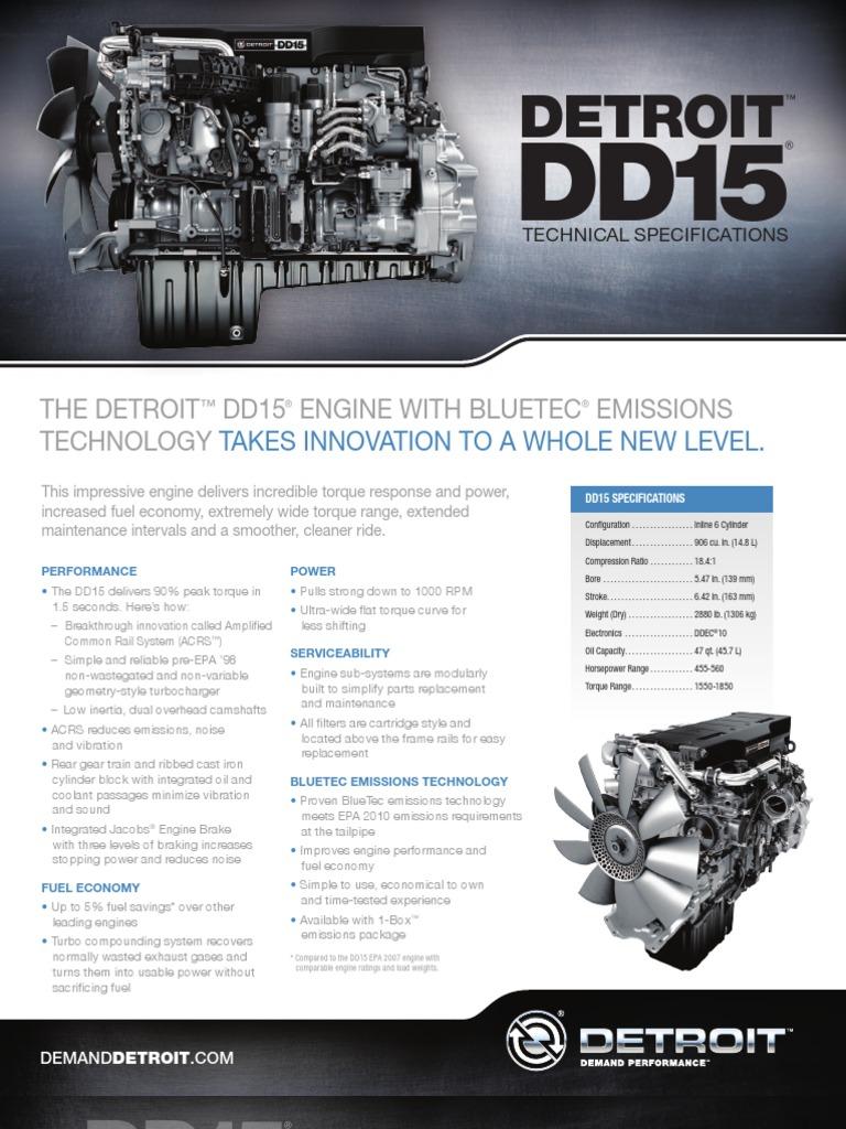1 13-DD15-Spec-Sheet-FNL2-DDC-6215 | Engines