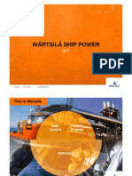 Wartsila SP Ppt 2011 Ship Power.