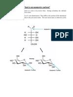 Anomeric Carbon