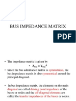 Bus Impedance Matrix