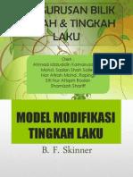 Modifikasi Tingkah Laku Skinner