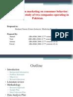 impact of green marketing on consumer behavior