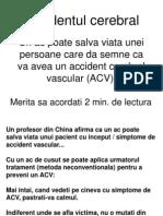 Tratament în urgențele AVC