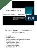 SL - Immobilizzazioni Materiali
