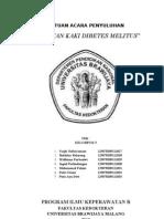 Leaflet Perawatan Kaki Diabetes