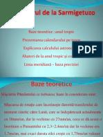 Calendarul de La Sarmigetuzo