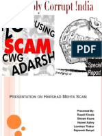Presentation on Harshad Mehta Scam
