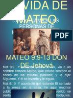 La Vida de Mateo