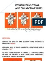 Instructions for Cutting, Splicing and Connecting Wires - Copy