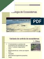 Clima e Ecossistemas - 06