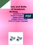 PresentThesis Writing
