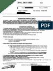 Mandat de vente Objets en Or Crédit Municipal