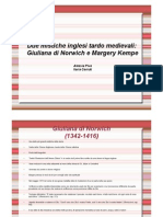 6 7 Giuliana Norwich Margery Kempe