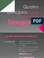 Tipografia Principios
