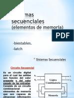Sistemas Secuenciales (Elementos de Memoria)