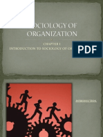 Sociology of Organization