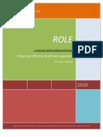 ROLE Training Needs Analysis Model by Yawar Ali Kazmi