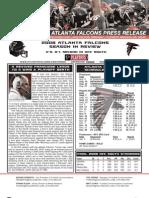 Atlanta Falcons 2008 Season in Review