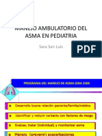 Manejo Ambulatorio Del Asma en Pediatria