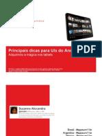 Principais Dicas Para UIs Do Android