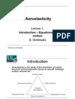 Aero Elasticity 01