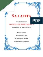 ÑA CATITA - Obra completa