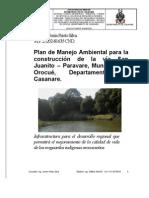Plan de Manejo Ambiental Paravare