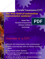 Continuously Variable Transmissions2