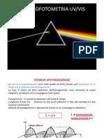 Spettrofotometria 012