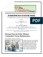 Fiji Ahmadi Muslims Observe Reerat