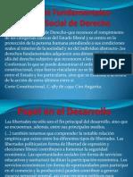 Derechos Fundamentales-Estado Social de Derecho