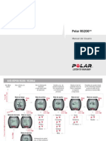 Polar RS200 User Manual Espanol