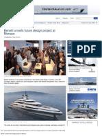 Benetti Unveils Future Design Project at Monaco