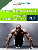 Fii in Forma Maxima-Exercitii Cu Greutatea Corpului