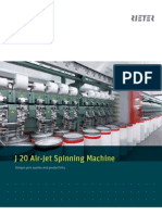 J 20 Air-jet Spinning Machine Brochure 2386-V1 en 34515