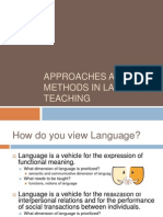 Methods and Approaches