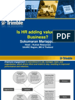 HR Adds Value to Business