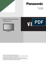 Manual TV Panasonic