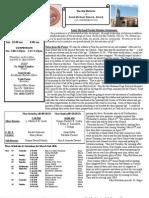 St. Michael's March 3, 2013 Bulletin