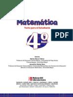 4 Basico - Matematica - McGraw - Estudiante