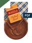 The Mazola Salad Bowl.  Undated, ca. 1930's recipe booklet.