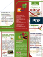 Diploma in Writing