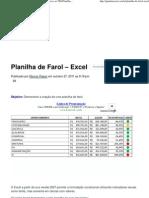 Guia do Excel__ Seu melhor site sobre excel do básico ao VBAPlanilha de Farol - Excel _ Guia do Excel__ Seu melhor site sobre excel do básico ao VBA
